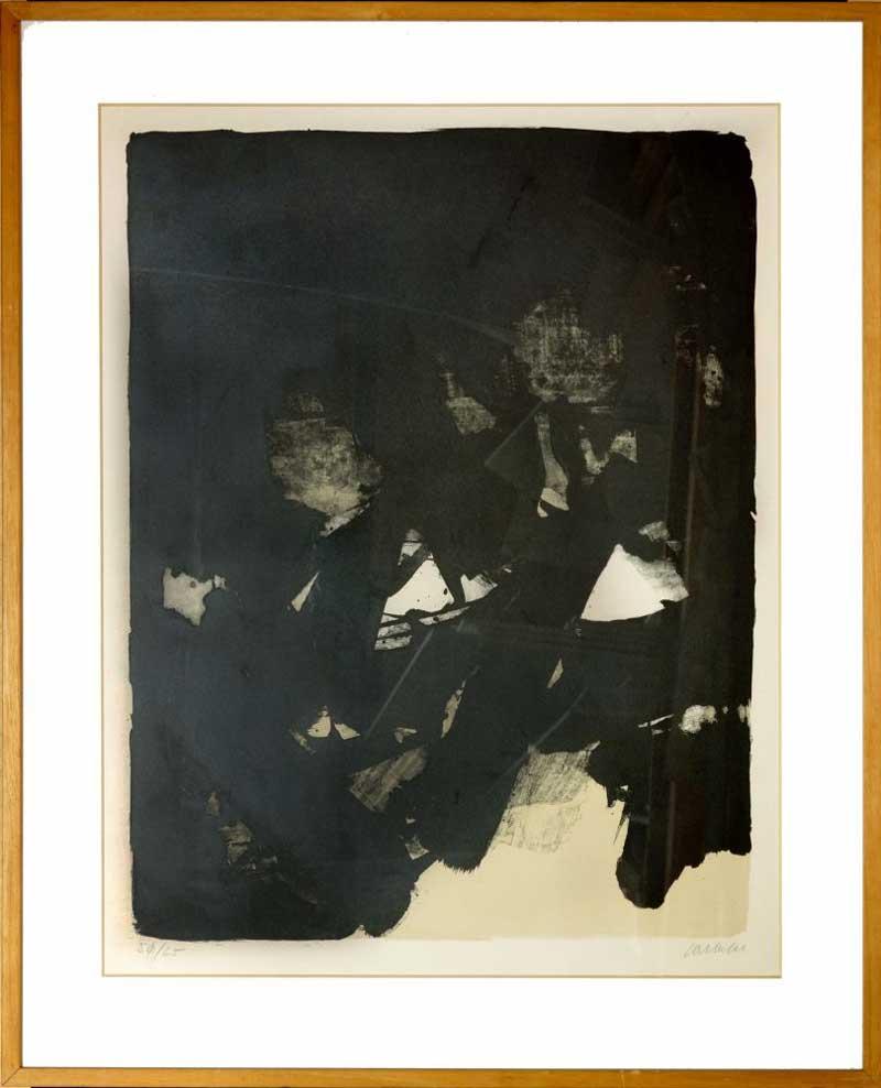 soulages litografi